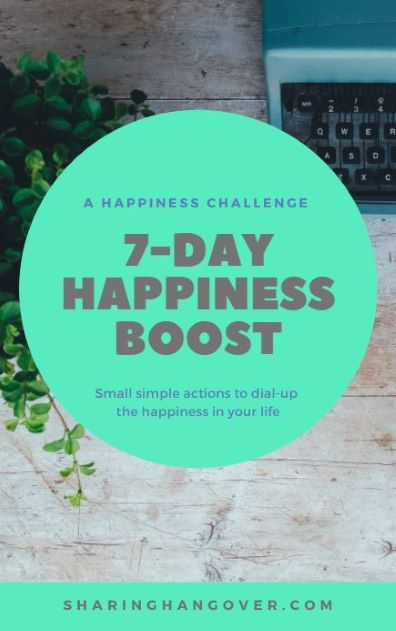 Happiness boost